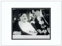 John Cleese & Terry Jones Autograph Photo Signed - Mr Creosote